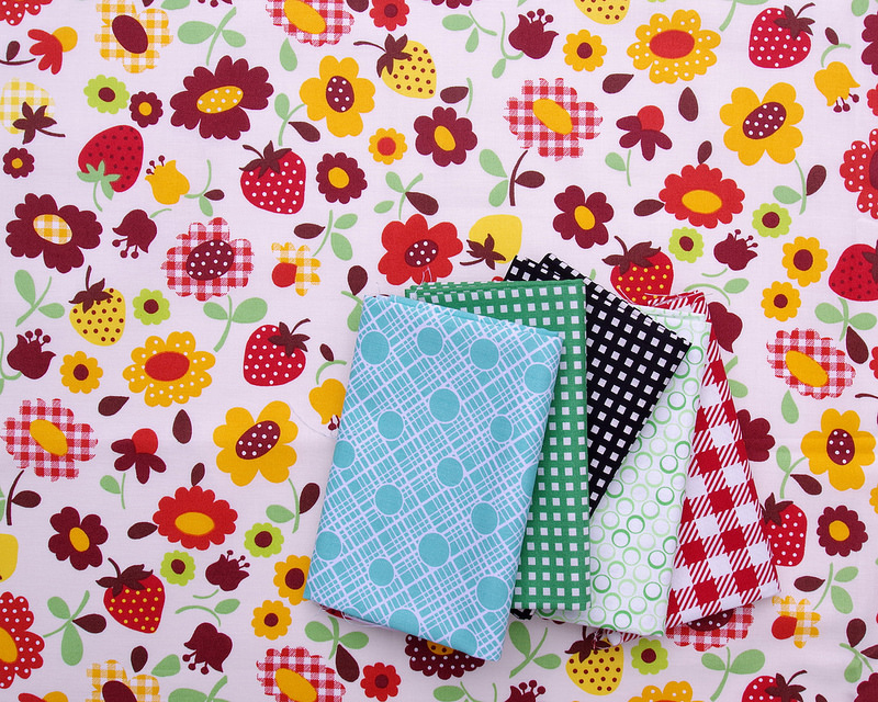 Assorted Fabrics from Tokyo Quilt Festival | © Red Pepper Quilts 2018
