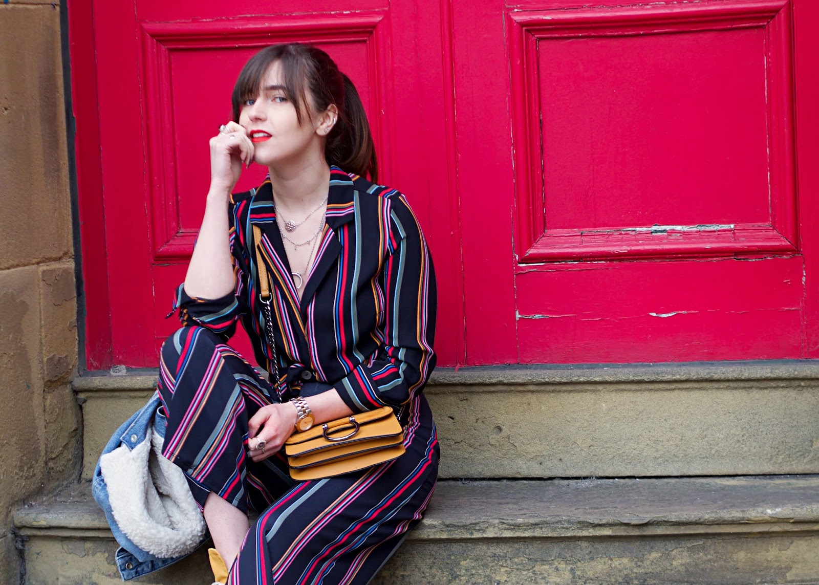 candy stripe outfit