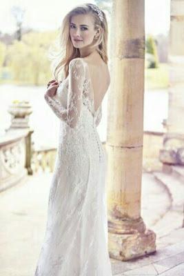 abito da sposa tubino