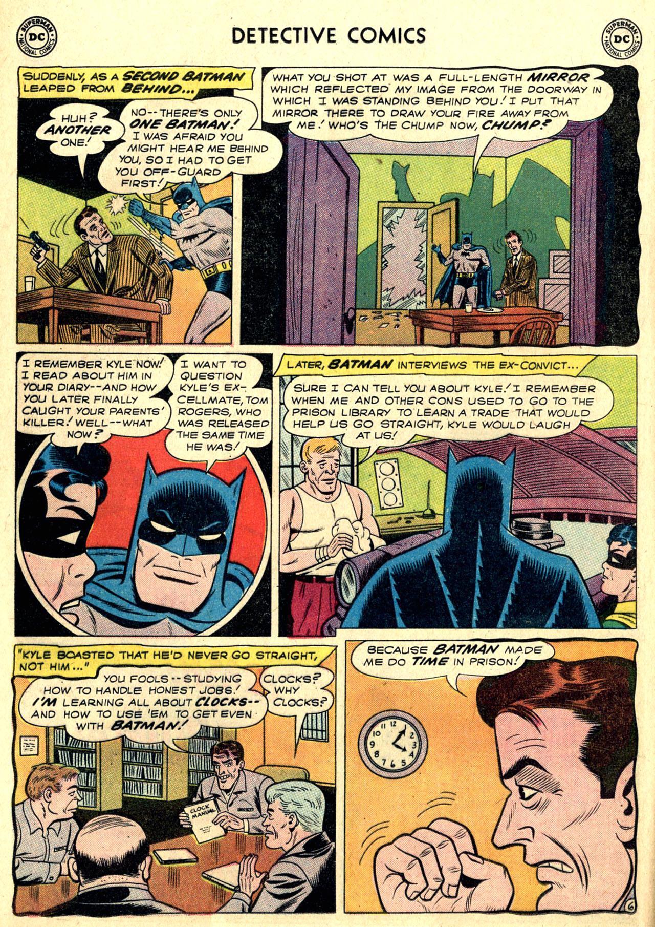 Read online Detective Comics (1937) comic -  Issue #265 - 8