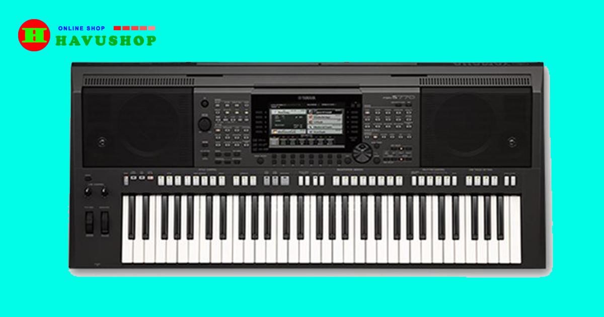 đàn organ yamaha psr s770 đã qua sử dụng