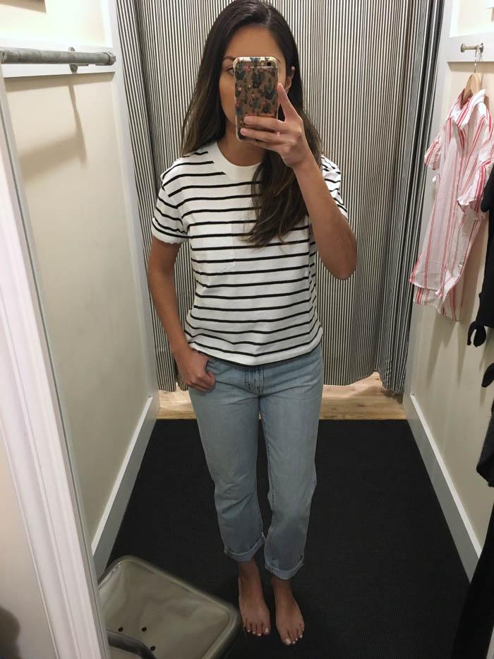 cute stripe tshirt
