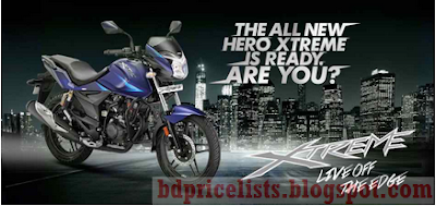 Hero Xtreme Sports 150CC Motorcycle Full Specifications And Price in Bangladesh BD
