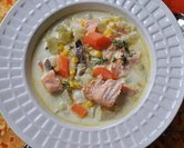 March - Salmon Chowder