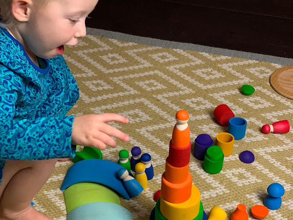 My Independent Chatterbox: A development leap in my 2 year old