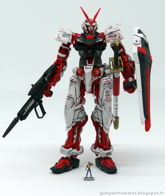 RG Real Grade Gundam Astray Red Frame 1/144 Lowe Guele