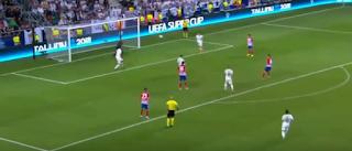 أتلتيكو مدريد بطلاً للسوبر الأوروبى بالفوز على ريال مدريد