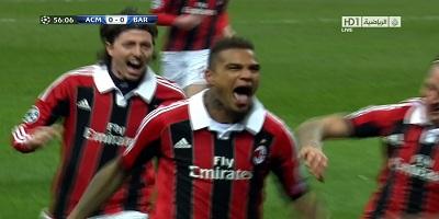 UEFA-16 : Milan 2 vs 0 Barcelona 20-02-2013