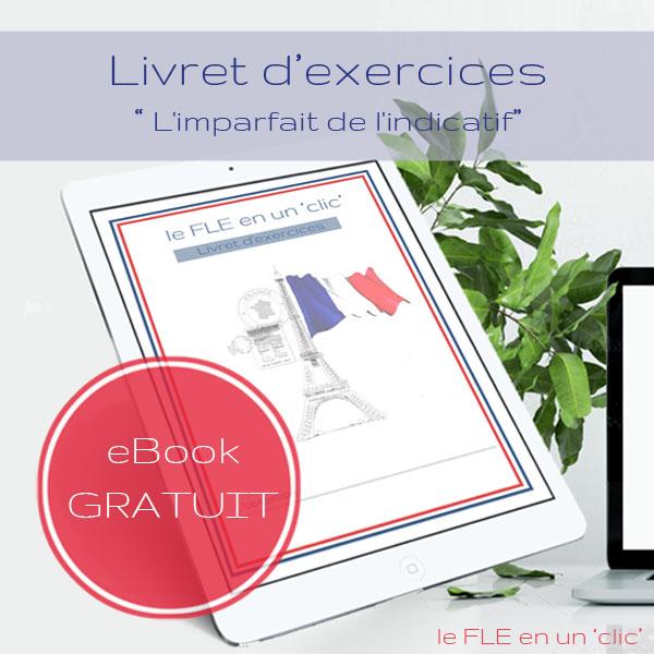 ebooks à télécharger, exercices avec solutions sur l'imparfait, FLE