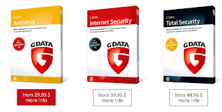Product dari G data Antivirus