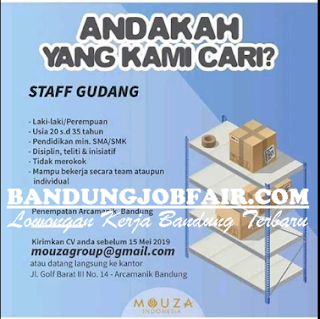 Lowongan Kerja di Mouza Group Surabaya Terbaru Mei 2019