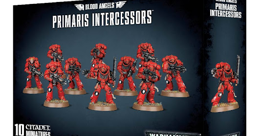 BREAKING NEWS: New Primaris Blood Angels kits