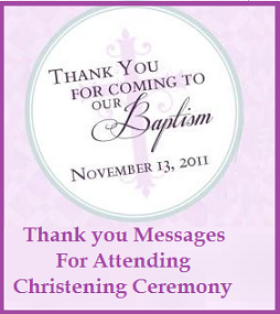 Sample messages and wishes thank you messages for attending thank you messages for attending christening ceremony thank you note for attending baptism ceremony thank you wordings for attending christening ceremony m4hsunfo