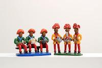 Escultura de Barro cangaceiros