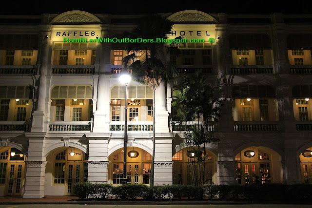 Raffles Hotel, City Hall, Singapore