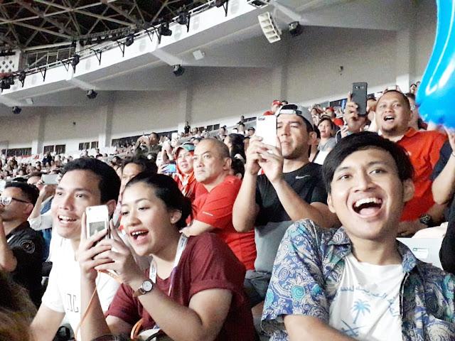 penonton pertandingan asian games