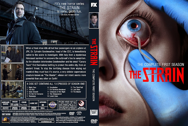 Capa DVD The Strain Primeira Temporada