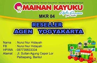 Reseller Mainan Kayuku Yogyakarta Nurul