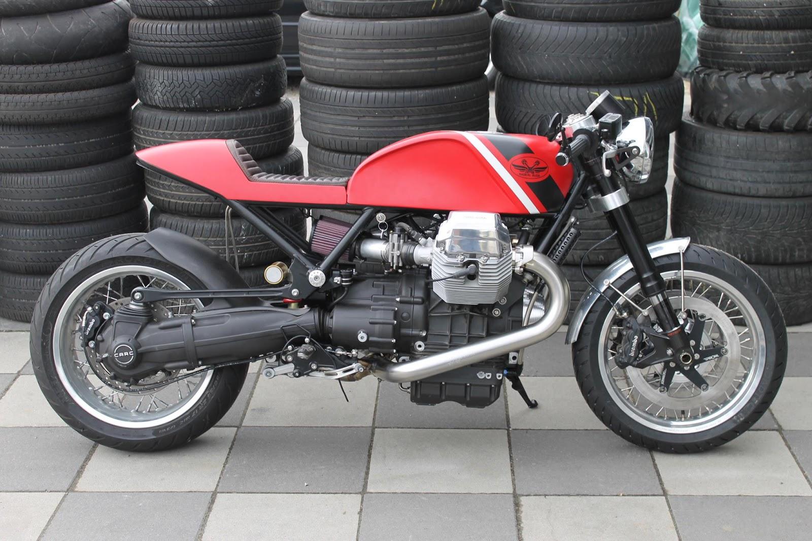 Racing Cafè: Moto Guzzi Bellagio Cafè Racer by Radical Guzzi