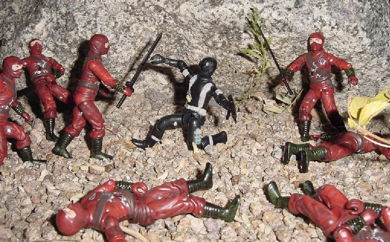 2004 Red Ninja Viper, Stormshadow, TRU Exclusive, 2005 Snake Eyes