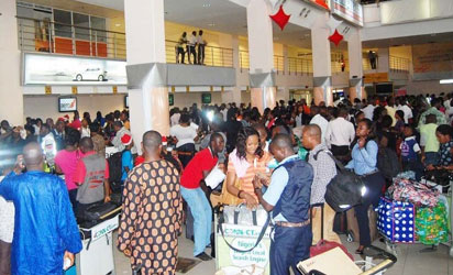nigerians living abroad return home