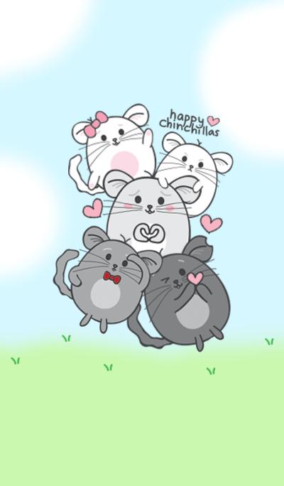 Happy Chinchillas