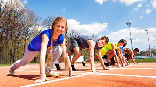 Jóvenes atletas