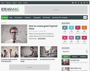 Best-blogger-templates-ideas-mag-free