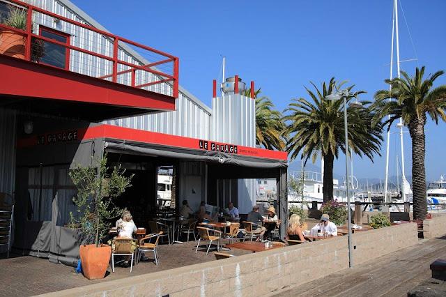 Restaurante Le Garage em Sausalito