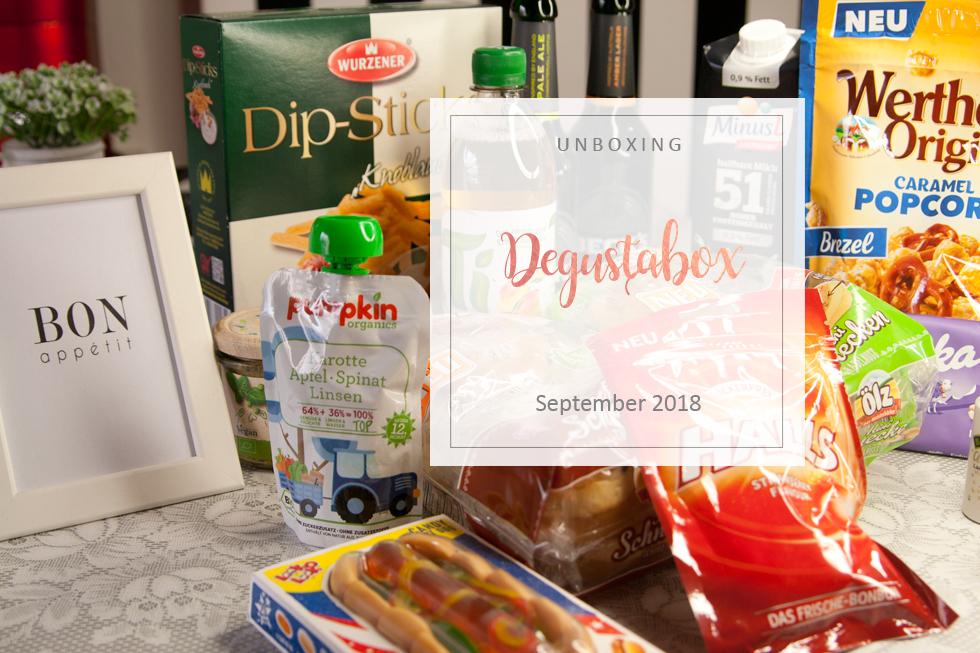 Degustabox - September 2018 - unboxing