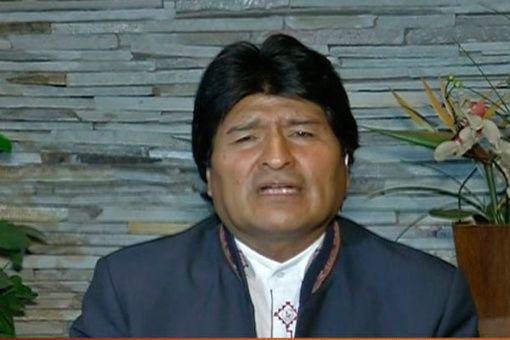 Morales urge a ONU actuar ante genocidio en Palestina