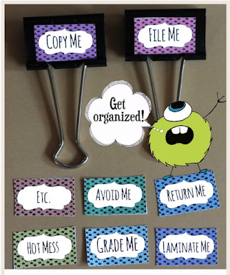 http://www.theclassroomcreative.com/2014/07/classroom-organization-binder-clip-label-free-printable/