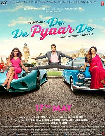 De De Pyaar De (2019) Full Hindi Movie Download pDVDRip