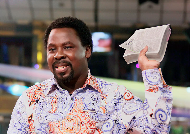 TB Joshua insists prophesy on US election was given by God (despite being wrong)