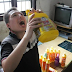 Wahala dey o! This 31 year old Chinese man can't stop drinking detergent liquid... photos