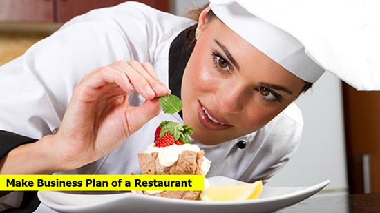 How to make the business plan of a restaurant?