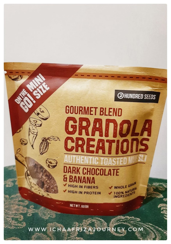 Review : Gourmet Blend Granola Creation Dark Chocolate & Banana