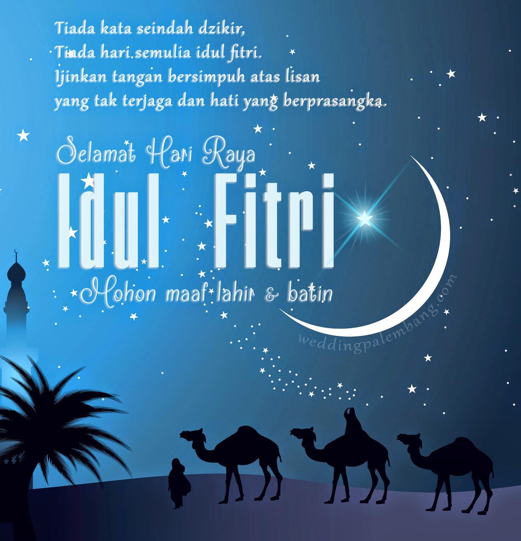 Populer Gambar Kartun Muslimah Ucapan Idul Fitri