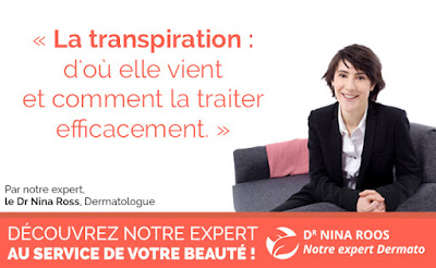article expert nina roos transpiration traitement