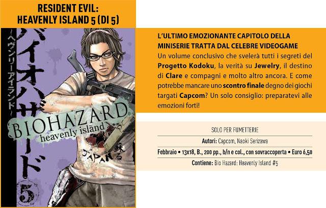 Resident Evil: Heavenly Island #5