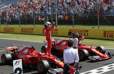 Ferrari-pole-position-f1-hungaroring-2017