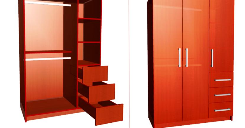 Dise o de muebles madera dise o y construcci n closet for Closet medianos