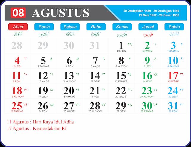 Agustus 2019