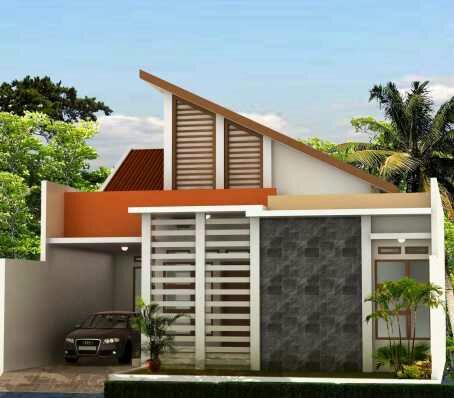 contoh bangunan rumah minimalis dengan desain sederhana