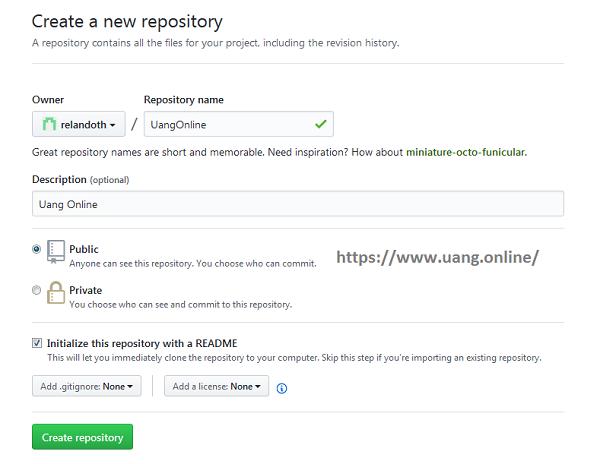 Cara Buat Repository Baru di GitHub