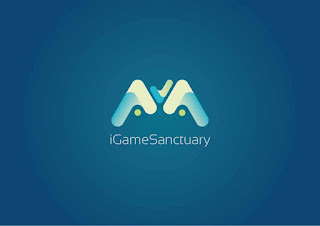 iGameSanctuary Logo Design (Resetblue)