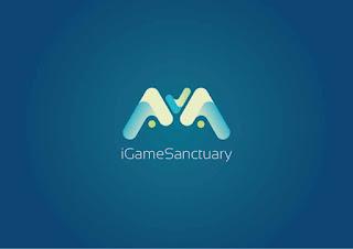 iGameSanctuary Logo Design (Resetblue)