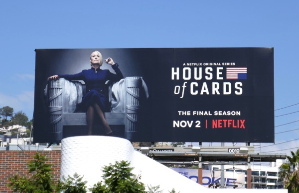 House of Cards final season 6 billboard