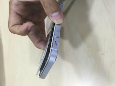 layar iphone merenggang, bengkak, mengembang