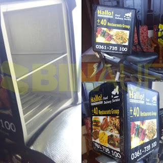 Tas delivery box makanan Surabaya Hello